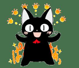 blackcat chibi sticker #327038