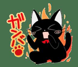 blackcat chibi sticker #327051