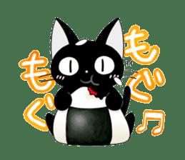 blackcat chibi sticker #327056