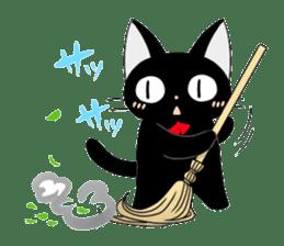 blackcat chibi sticker #327057