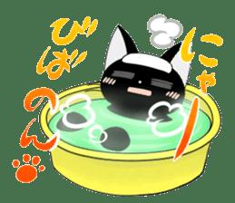 blackcat chibi sticker #327058