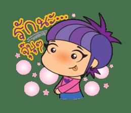 I-Tim & bully (w/Thai) sticker #327548