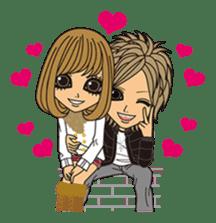 HAPPYDAY of gal & mom sticker #328108