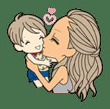 HAPPYDAY of gal & mom sticker #328111