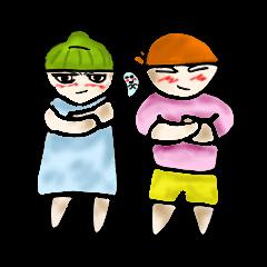 Yai mheng and Jao muu