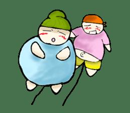 Yai mheng and Jao muu sticker #328632