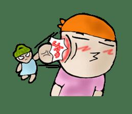 Yai mheng and Jao muu sticker #328644