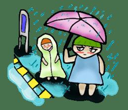 Yai mheng and Jao muu sticker #328657