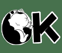 Panda-cat Mink(Japanese  version) sticker #330435