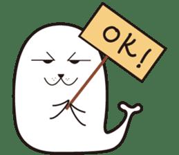 Shake seal sticker #330548