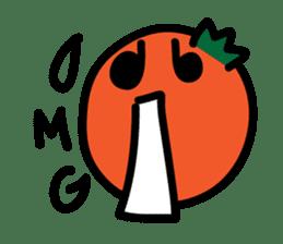 Oranger happy life sticker #331377