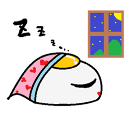 The 1day of fried egg family sticker #331706