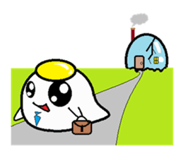 The 1day of fried egg family sticker #331707