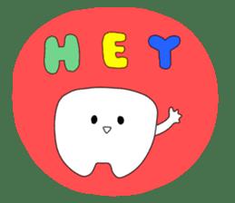 Mr.white teeth sticker #332065
