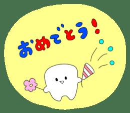 Mr.white teeth sticker #332066