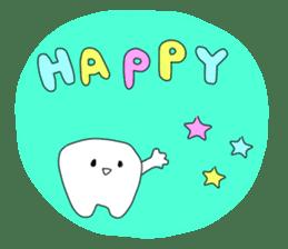 Mr.white teeth sticker #332067