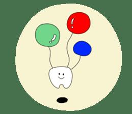 Mr.white teeth sticker #332068