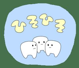 Mr.white teeth sticker #332077