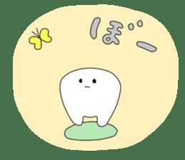 Mr.white teeth sticker #332078