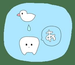 Mr.white teeth sticker #332083