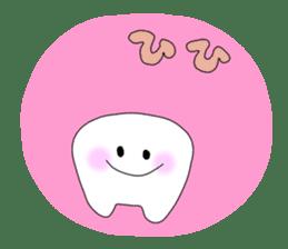 Mr.white teeth sticker #332096