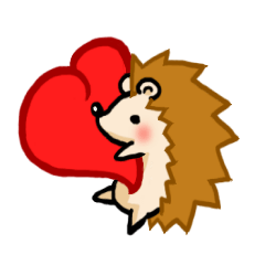 Hedgehog Sticker!