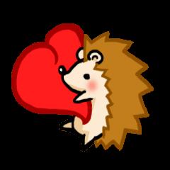 Hedgehog Sticker!