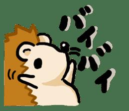 Hedgehog Sticker! sticker #332882