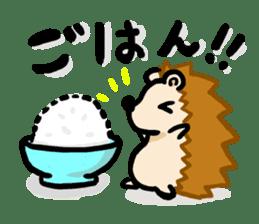 Hedgehog Sticker! sticker #332888