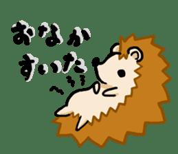 Hedgehog Sticker! sticker #332889