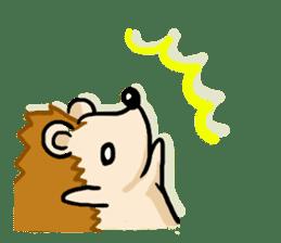 Hedgehog Sticker! sticker #332891