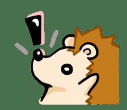 Hedgehog Sticker! sticker #332896