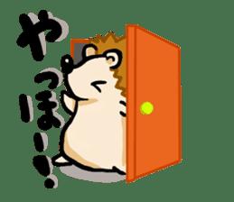Hedgehog Sticker! sticker #332897