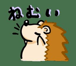 Hedgehog Sticker! sticker #332901