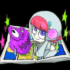 comic girl COSMO