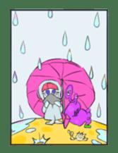 comic girl COSMO sticker #333720