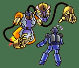 Robo Family Z sticker #333913