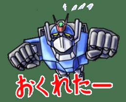 Robo Family Z sticker #333919