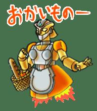 Robo Family Z sticker #333923