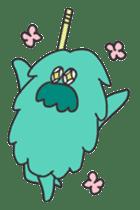 Mossan of mop Japanese version sticker #333986