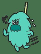 Mossan of mop Japanese version sticker #333987