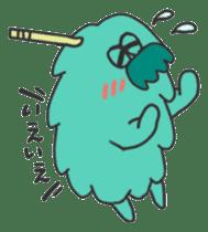 Mossan of mop Japanese version sticker #333993