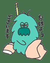 Mossan of mop Japanese version sticker #333995