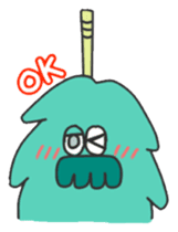 Mossan of mop Japanese version sticker #333999