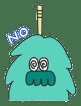 Mossan of mop Japanese version sticker #334000