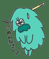 Mossan of mop Japanese version sticker #334011