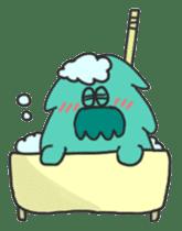 Mossan of mop Japanese version sticker #334013