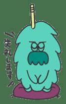 Mossan of mop Japanese version sticker #334015