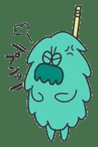 Mossan of mop Japanese version sticker #334018