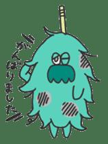 Mossan of mop Japanese version sticker #334020